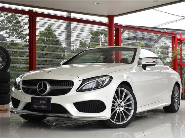 Mercedes-Benz C-Class Cabriolet C180 Sport AMG-P LeatherExclusive-P RHD 9AT