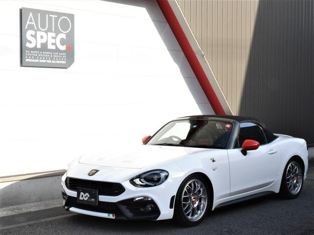 ABARTH 124 Spider NAVI Leather Package RHD 6AT