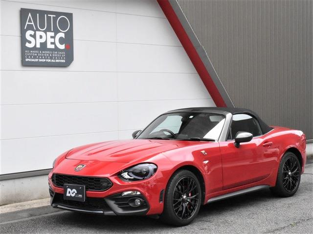 ABARTH124spider NAVI Leather Package RHD 6AT