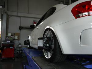 """""""アライメント調整""""-BMW 1M Coupe-"""