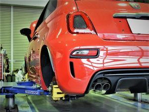 ABARTH 595×LowDown & ExteriorParts。