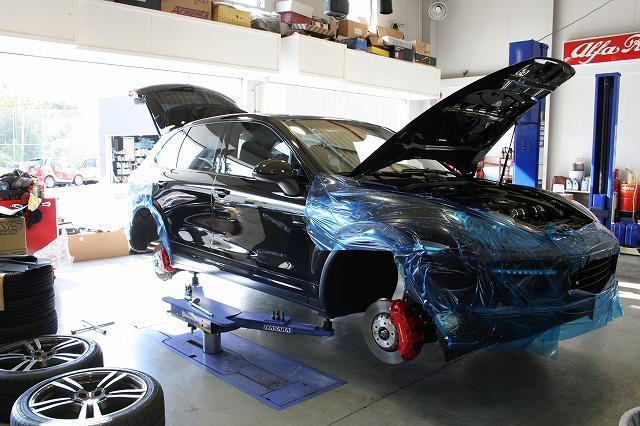 """Akrapovic Slip-on System"" -Porsche Cayenne Turbo-"