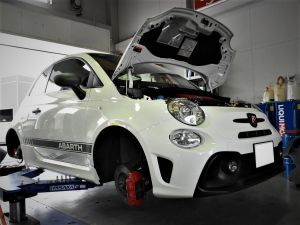 ABARTH595×Largus車高調KIT