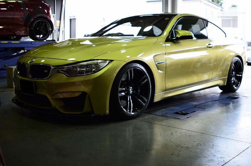 """""""colorホイールボルト&wheelスペーサー -BMW M4 Coupe-"""
