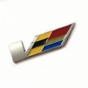 HOT-fit-for-font-b-Cadillac-b-font-font-b-V-b-font-emblem-badge-3D