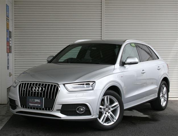 AUDI Q3 2.0TFSI Quattro 170ps S-Line Package