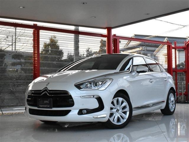 Citroen DS5 1.6 White Melody RHD 6AT