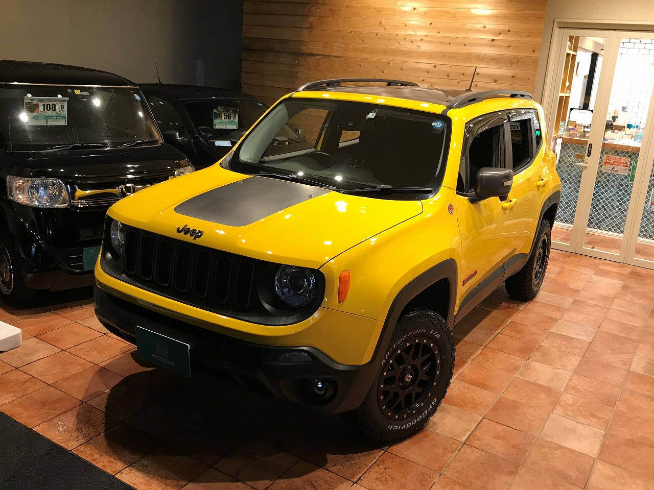 CHRYSLER JEEP RENEGADE TRAILHAWK RHD 9AT 4WD