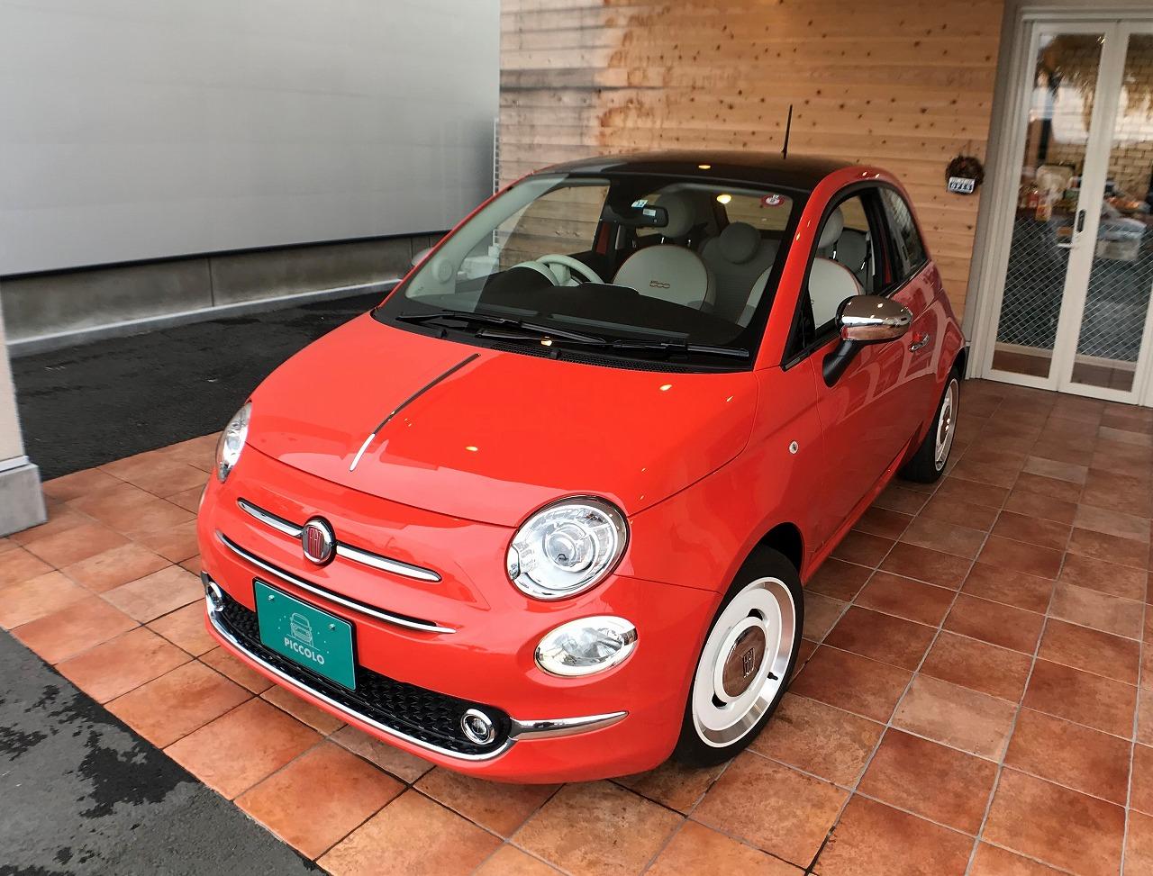 FIAT500 Anniversario/アニベルサリオ