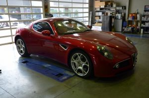 """WaterLeak Repair"" -AlfaRomeo 8C-"
